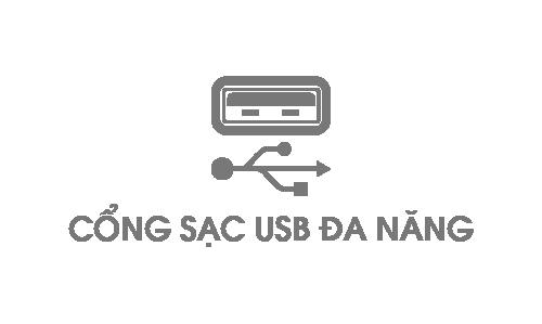 Cổng sạc USB đa Năng