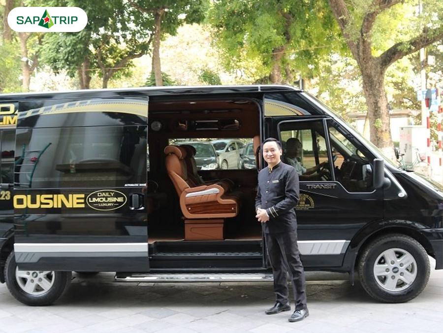 Nhà xe Daily Limousine Hà Nội đi Sapa