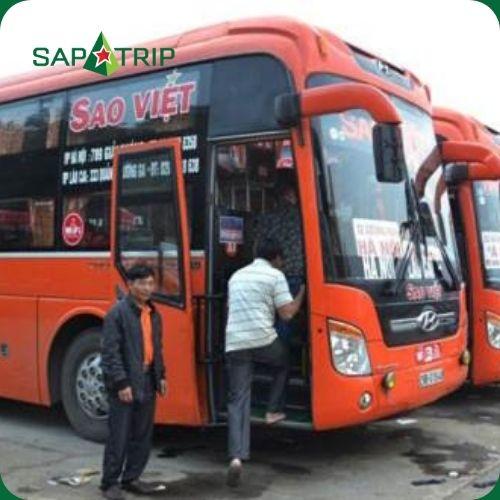 Sao Việt Bus | Nội Bài – Sapa | Xe Giường Nằm