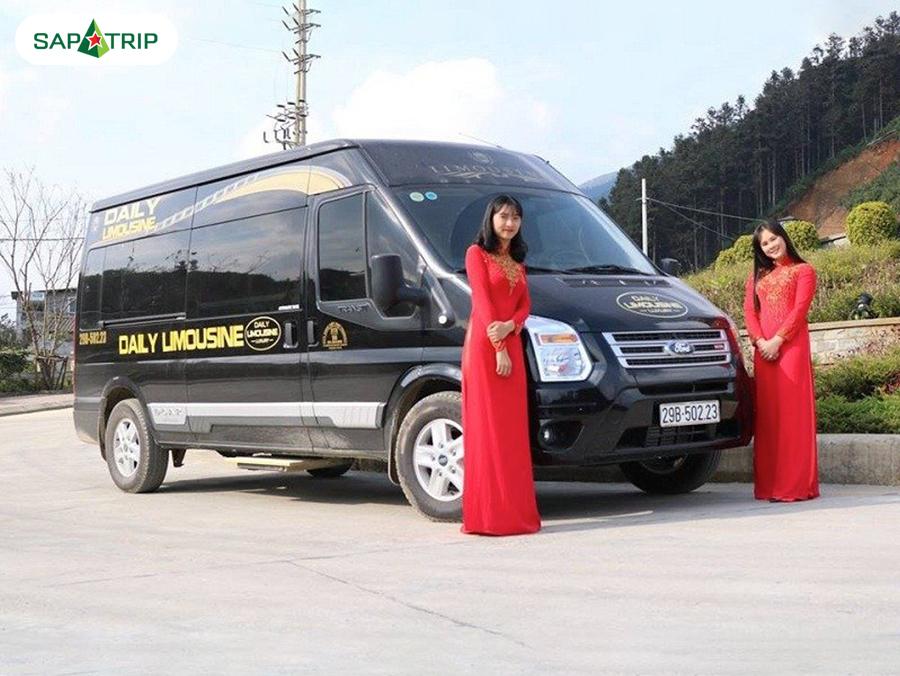 Nhà xe Daily Limousine đi SaPa từ Hà Nội