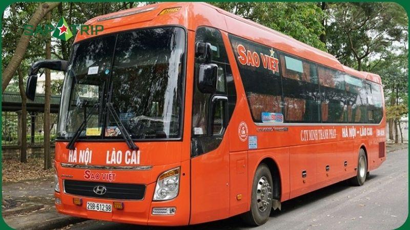 Xe khách Sao Việt Hà Nội - Sapa