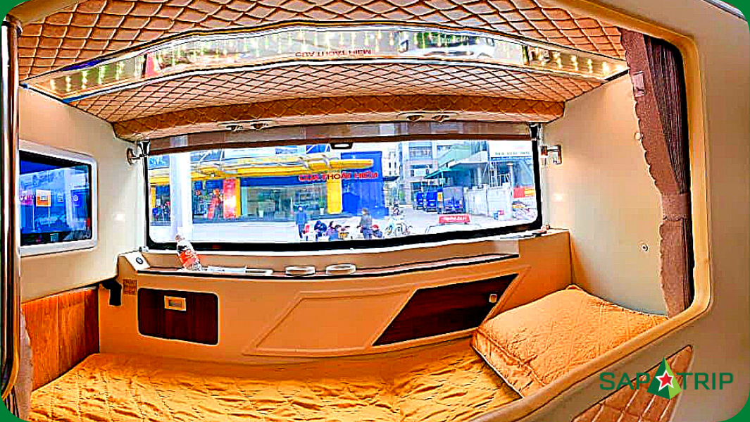 Các dòng xe của nhà xe Fansipan Express Bus