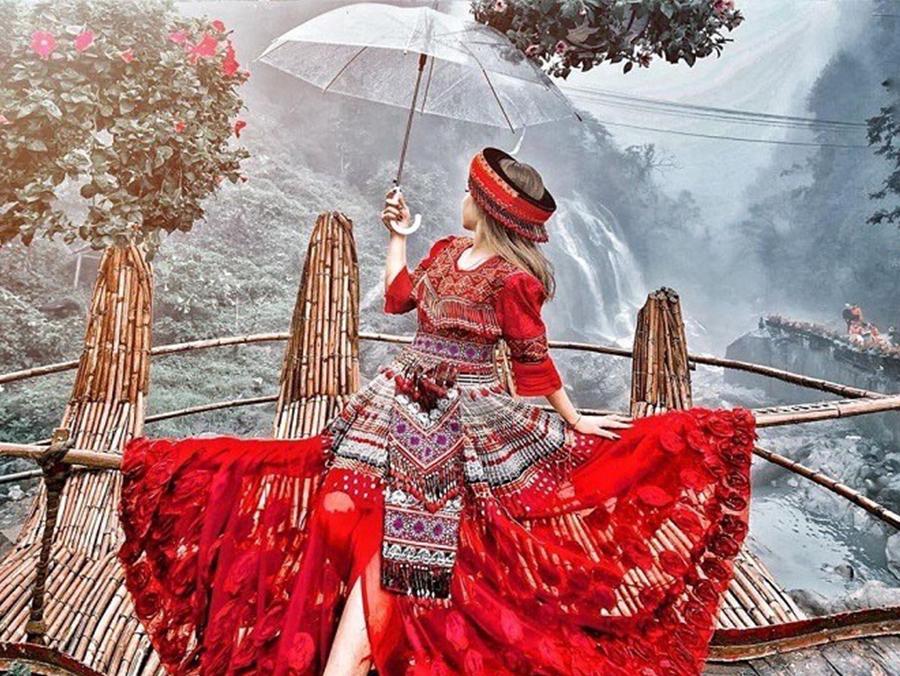 Thuê trang phục du lịch Sapa