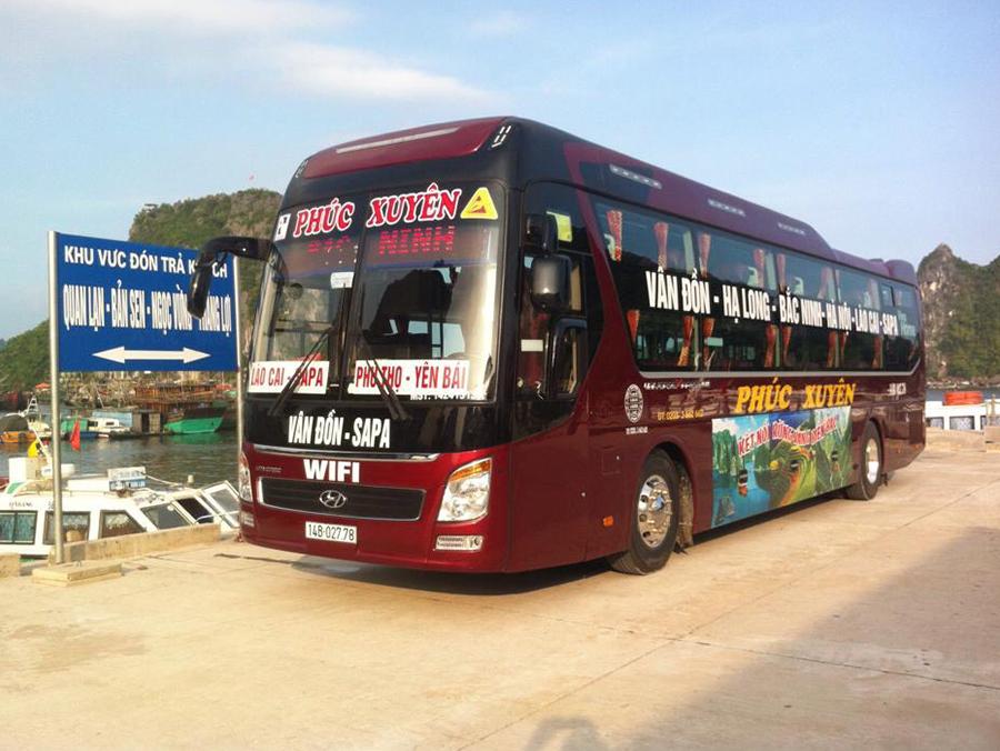 Xe đi Sapa Quảng Ninh