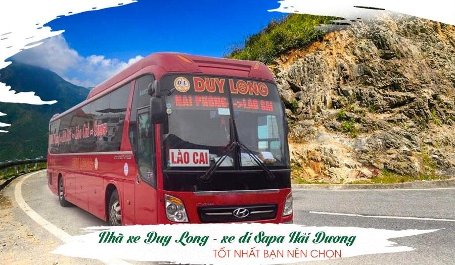 Nhà xe Duy Long – Xe đi Sapa Hải Dương tốt nhất bạn nên chọn