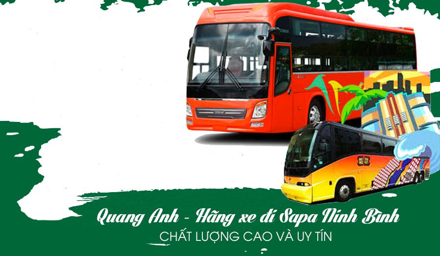 Quang Anh – Hãng xe đi Sapa Ninh Bình uy tín và chất lượng